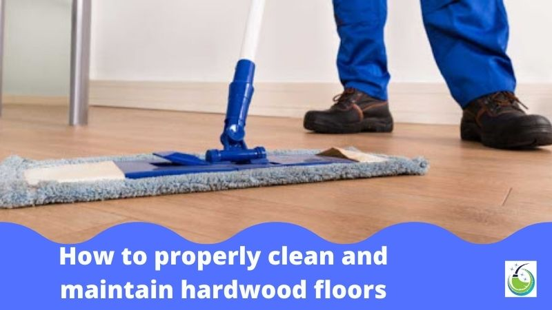 How to properly clean and maintain hardwood floors