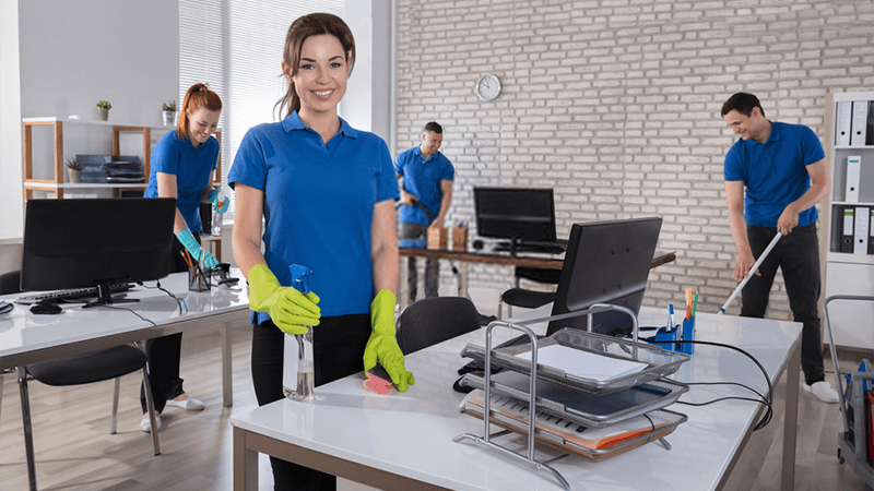 Characteristics of a good commercial office cleaning service
