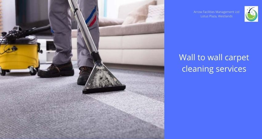 Wall to wall carpet cleaning services
